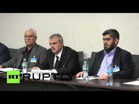 Switzerland: De Mistura meets Syrian opposition delegation for peace talks