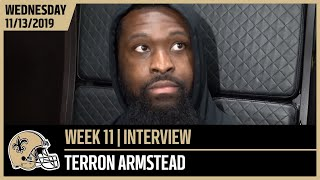Terron Armstead, 'We Gotta Be Able To Respond' | New Orleans Saints Football