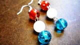 How to Make Simple Earrings for the Fourth of July - Jewelry-making Tutorial