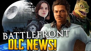 Star Wars Battlefront News | Rogue One DLC & Death Star Trench Run? + BOSSK CONFIRMED!?