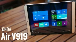 ONDA V919 Air Windows 10 y Android, en español