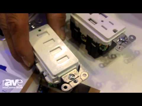 InfoComm 2015: Hubbell Shows USB Receptacles