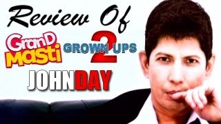 The zoOm Review Show - Grand Masti, John Day, Grown Ups 2 : Online Movie Review