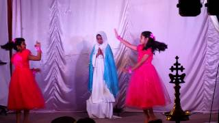 Walthamstow mother mary feast children dance 2015
