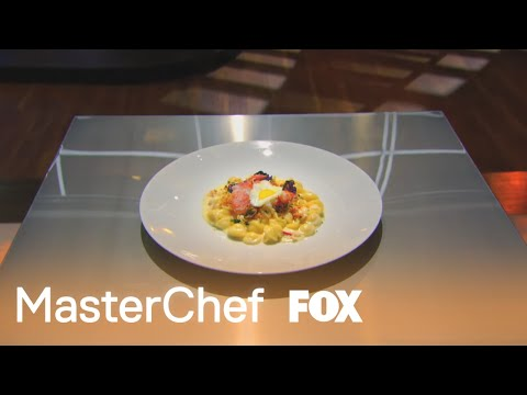 Courtney's Tasting | MASTERCHEF | FOX BROADCASTING