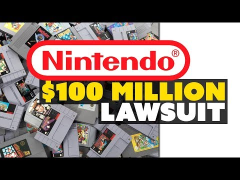 Nintendo Sues for More than $100 Million Over ROMs