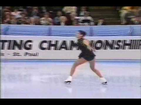 Nancy Kerrigan - 1991 US Figure Skating Championships, Ladies' Free Skate