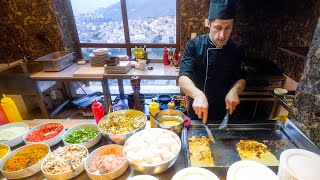 Staying at a 5-Star Hotel in IRAN! Buffet Breakfast + Full Room Tour in Tehran, Iran!