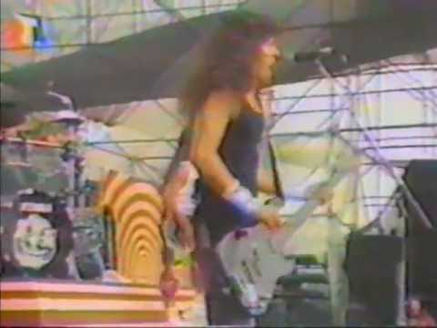 Anthrax - Live in Schwienfurt (Monsters of Rock 1988) 28:44 Min.