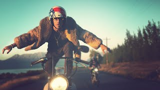 MOTORCYCLE SURFING! (Will Blow Your Mind) // ScottDW - Wilderness