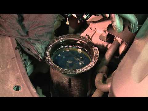 [* VW PASSAT GOLF JETTA *]( TDI DIESEL FILTER WECHSELN ) Diesel Filter Replacement