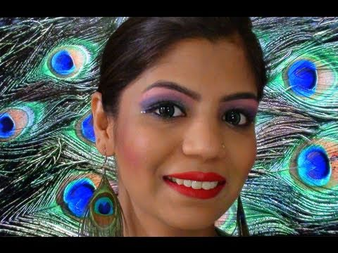 Katy Perry Eyebrows on How To Do Eye Makeup Tutorial Peacock Inspired Makeup