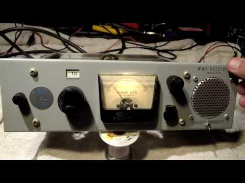 WWV Tube Radio Receiver