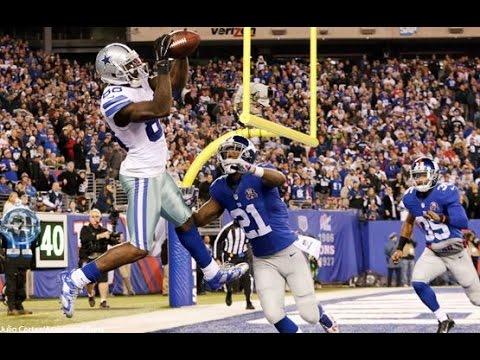 Dallas Cowboys beat New York Giants 31-28! Tony Romo Game Winning Touchdown to Dez Bryant!