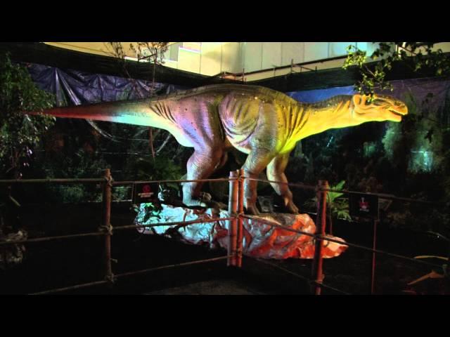 Llegaron los Dinosaurios Animatronics de Discovery Channel