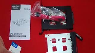 OImaster MR - 9100 PCI 2.5 inch SATA HDD / SSD Mobile Rack