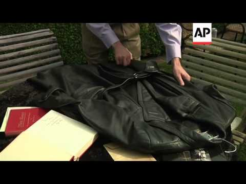 Early, signed edition of Mein Kampf and Speer's leather coat up for auction