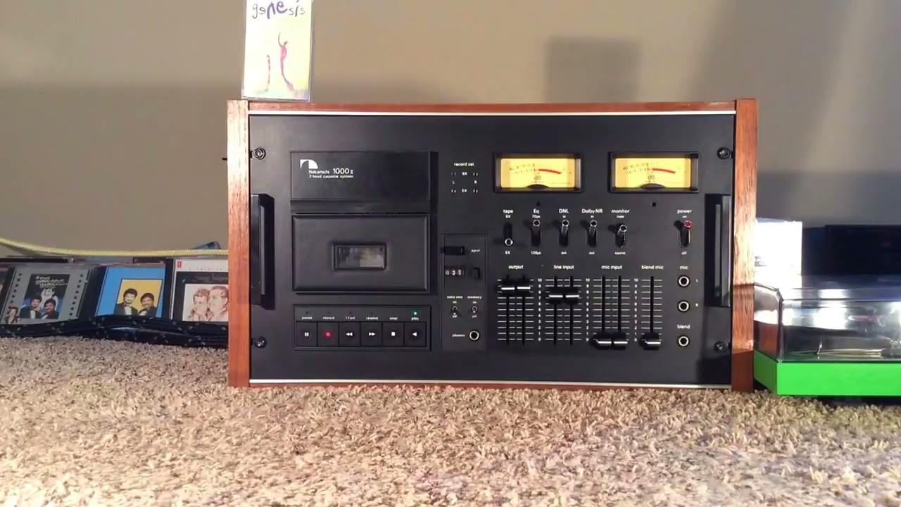 Nakamichi 1000 Tri Tracer Ii 3 Head Cassette System