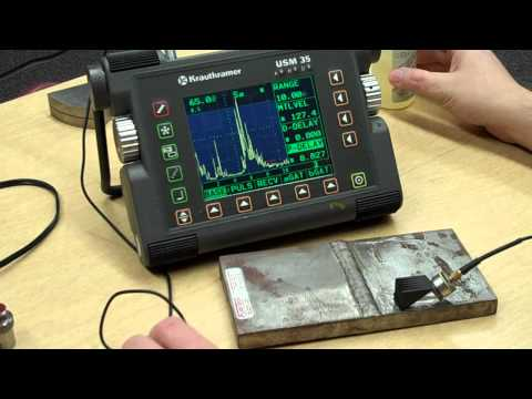 Shear Wave Distance Calibration IIW Block - YouTube