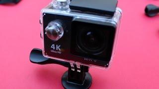 Review y test de la cámara H9 Ultra HD 4K Action cam Wifi de menos de 37 euros