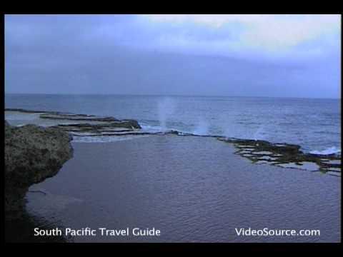 Ocean Blowholes of Tonga