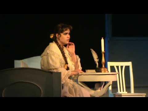 П И Чайковский опера   Евгений Онегин 1д 2 картина,2 сцена письма1