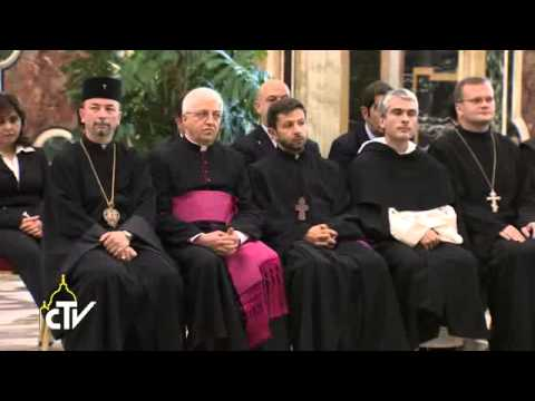 Pope Francis : In the Middle East and everywhere, freedom of