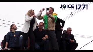 BOLSONARO LÍDER ABSOLUTO, FROTA MULTADO, E JOICE CANDIDATÍSSIMA .#JORNALDAJOICE