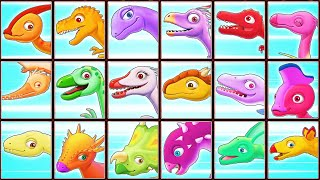 Dinosaur Park: Archaeologist Jurassic (18 Dino Skeletons)   Eftsei Gaming