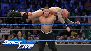John Cena vs Randy Orton SmackDown LIVE Feb 7 2017