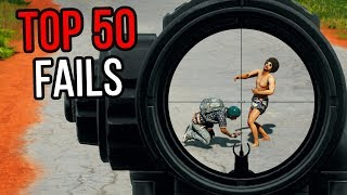 TOP 50 FAILS IN PUBG