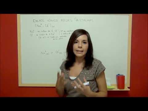 QUIMICA Fundamento del enlace iónico y redes cristalinas