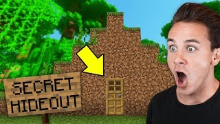 we found a SECRET BASE in our minecraft server... - Preston SMP