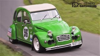 Citroen 2CV with Supercharged BMW GS1200 Swap || 154Hp/660Kg Classic - Retro Rides 2018