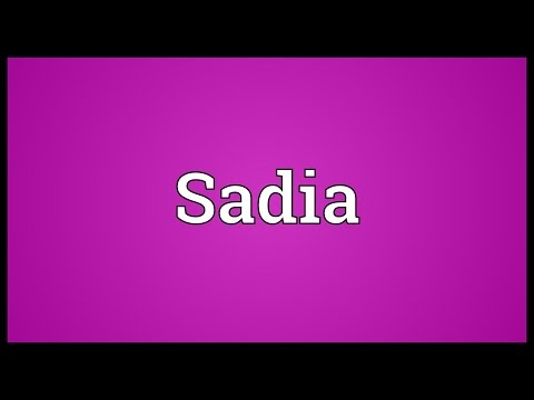 Sadia Meaning thumbnail