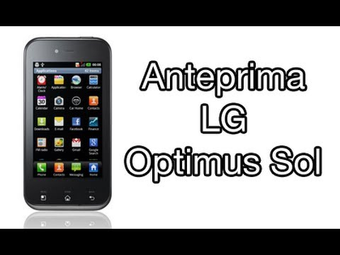 LG Optimus Sol. anteprima in italiano by AndroidWorld.it