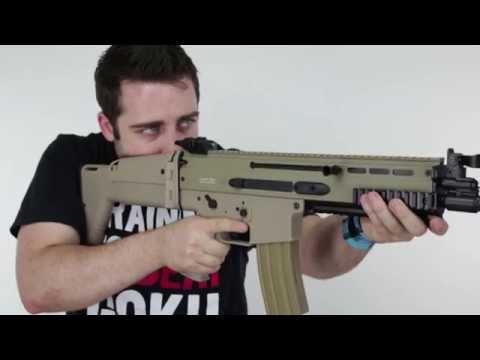 FN SCAR-L Sportline AEG - Airsoft Review - Classic Army