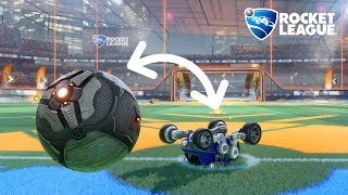 What if you could BE the ball in Rocket League? (and other mini games)