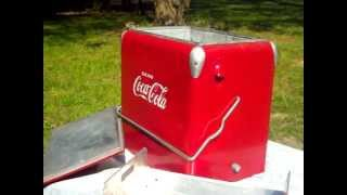 1950s Coca-Cola Cooler, Classic Coke Ice Chest! (sold)
