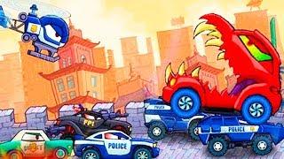 CAR EATS CAR 3, CAR eats CAR — SUPER SPEED #4 cartoon game about cars for children