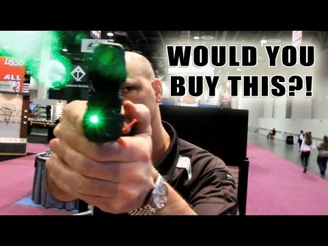 Crimson Trace Green Laser   Would You Buy This?!