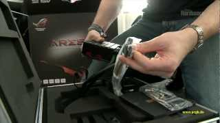 Dual GPU Monster Asus Ares 2_ Unboxing, Hands on Review [PCGH]