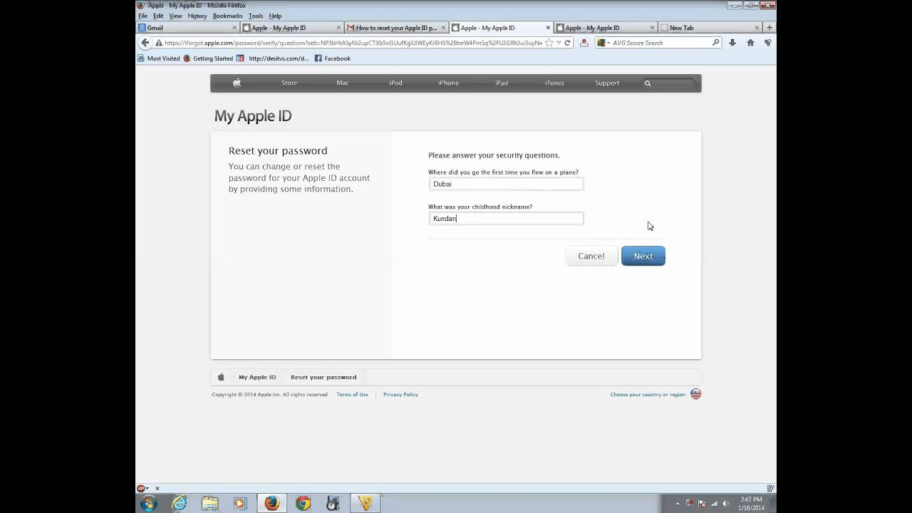 how to find out your apple password
