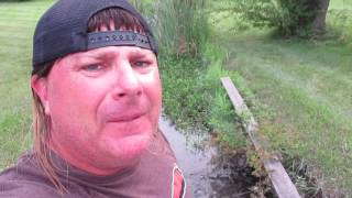 Donnie Baker Gives the Finger in His Latest River Confessions!
