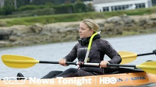 This Student Is Diving For Golf Balls In The Ocean (HBO)