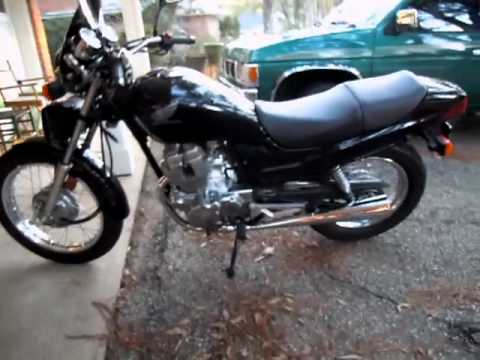 Paul Reichle lll's Honda CB-250 Nighthawk Motorcycle - YouTube