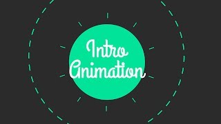 Introduction to After Effects Animations