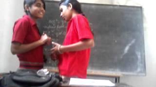 school girl prposing