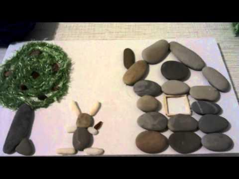 Поделки из камней своими руками с фото