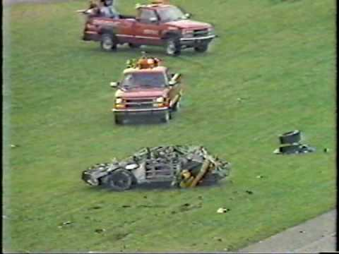 Rusty Wallace Talladega Crash And Crazy Finish ORIGINAL COMMENTARY!!